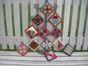 Assorted Quilt Ornaments