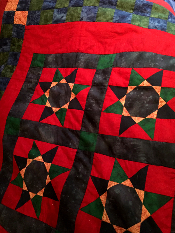 QCS from Deb quilt for husband