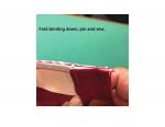 Mitered Binding