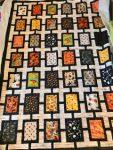 Tiled Halloween Quilt