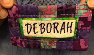 Deborah's Name Tag