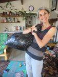 Lea and Bag of Scraps