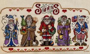 Judy's Santas