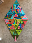 Candy's Triangle Quilt