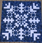 Jelly Snow Flake Quilt
