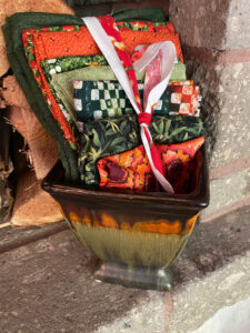 Planter and fabric